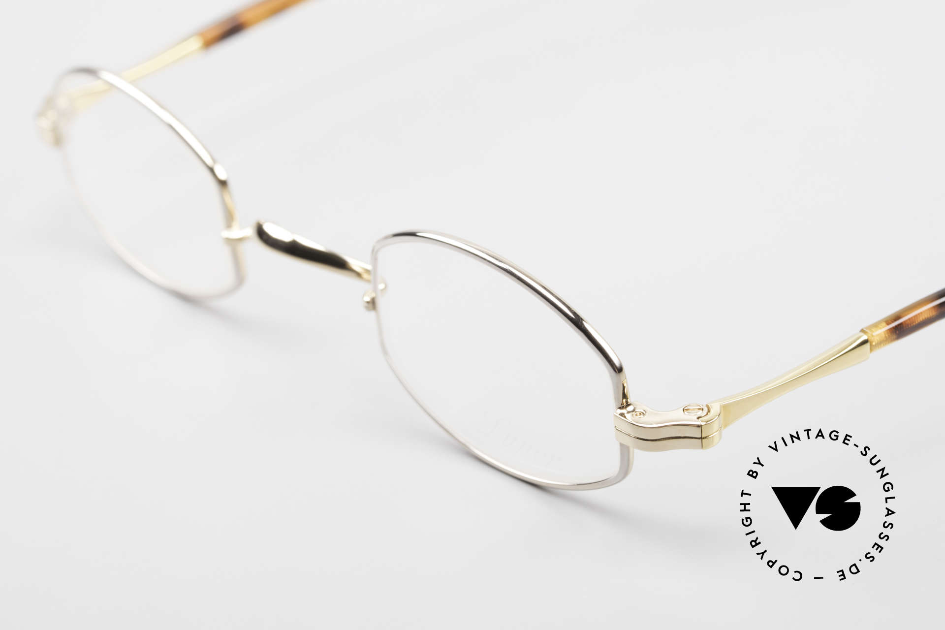 Lunor II A 02 Limited Edition BC Tortoise, approx. 20 years old UNWORN pair for lovers of quality, Made for Men and Women