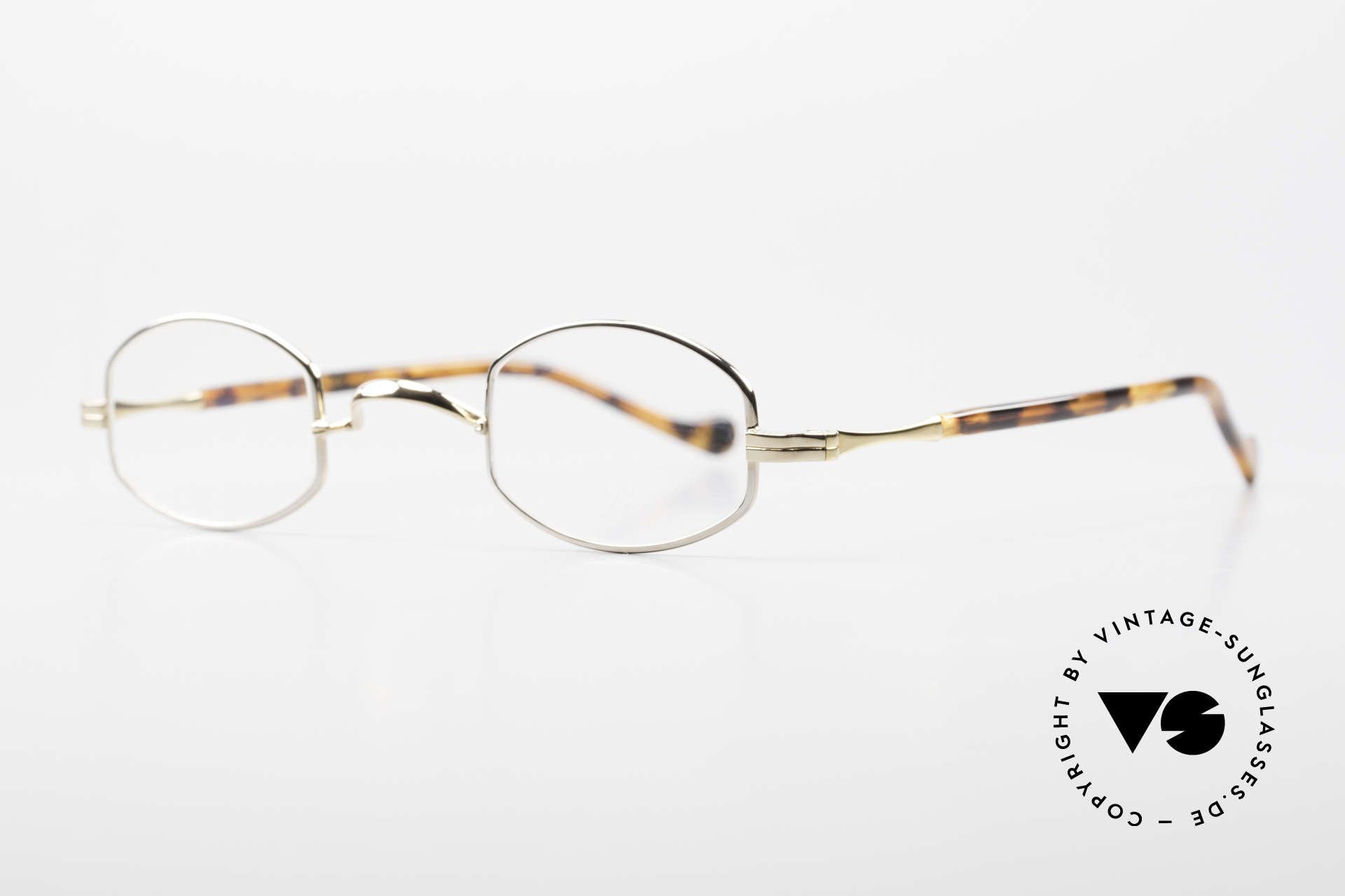 Lunor II A 02 Limited Edition BC Tortoise, rare model II A 02 = size 38°25, temple length: 140mm, Made for Men and Women