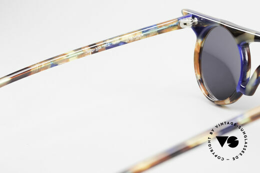 Design Maske Berlin Jason Artful Vintage Sunglasses 90s, 110mm frame width = an XS to SMALL size for ladies, Made for Women