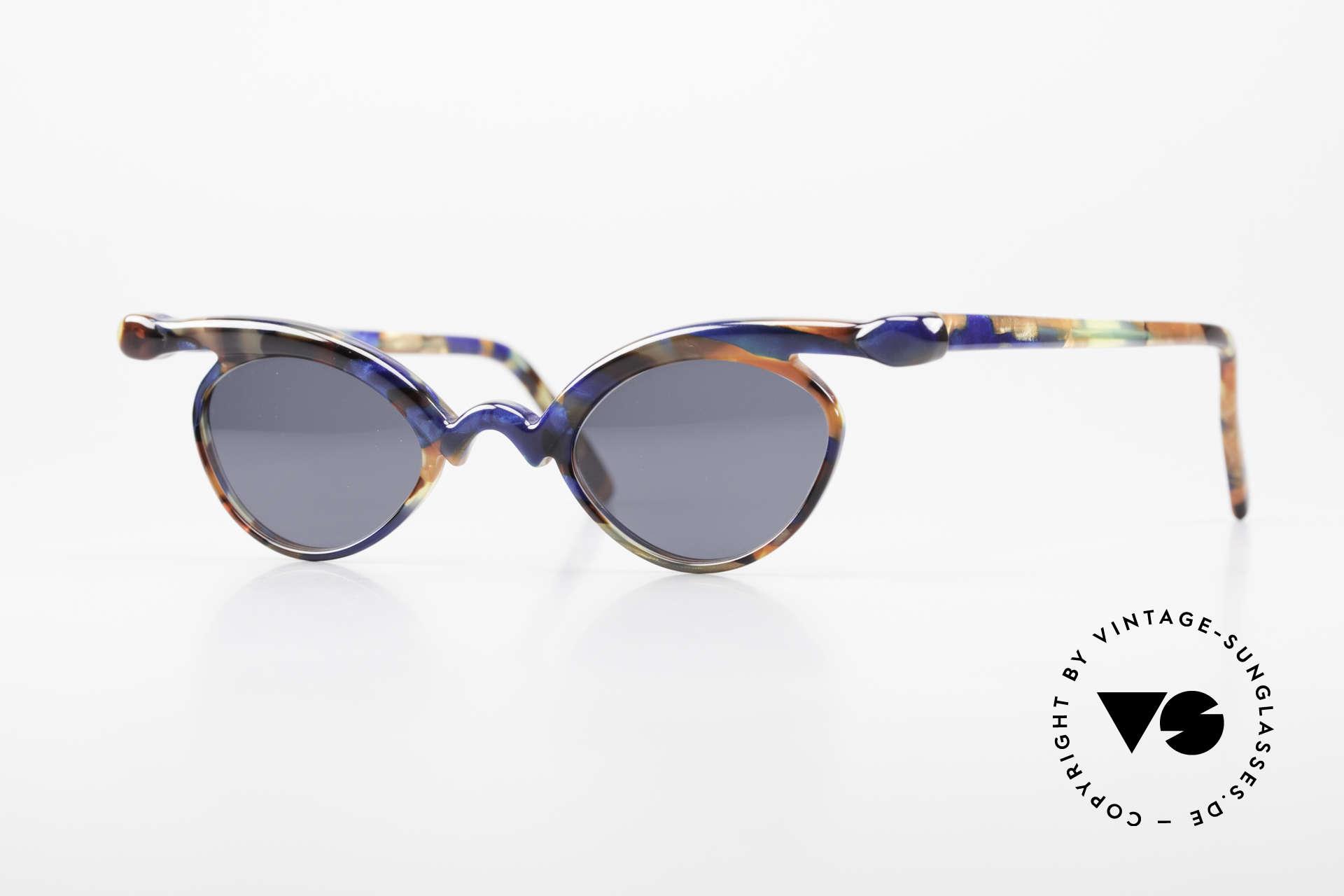 Design Maske Berlin Niobe Artful 90's Ladies Sunglasses, Design Maske Berlin: glasses like never seen before, Made for Women