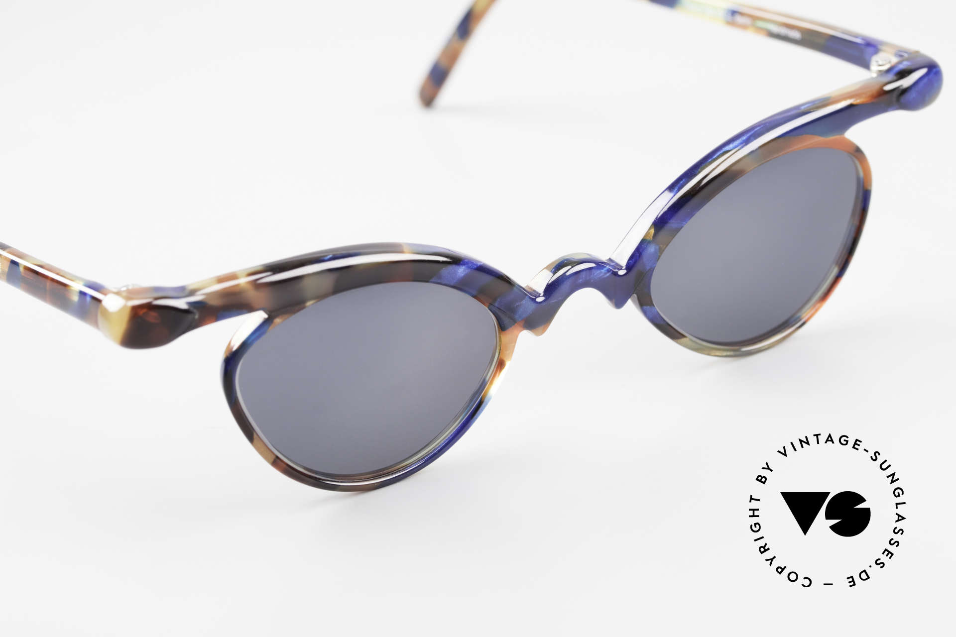 Design Maske Berlin Niobe Artful 90's Ladies Sunglasses, limited-lot production from Berlin, collector's item!, Made for Women