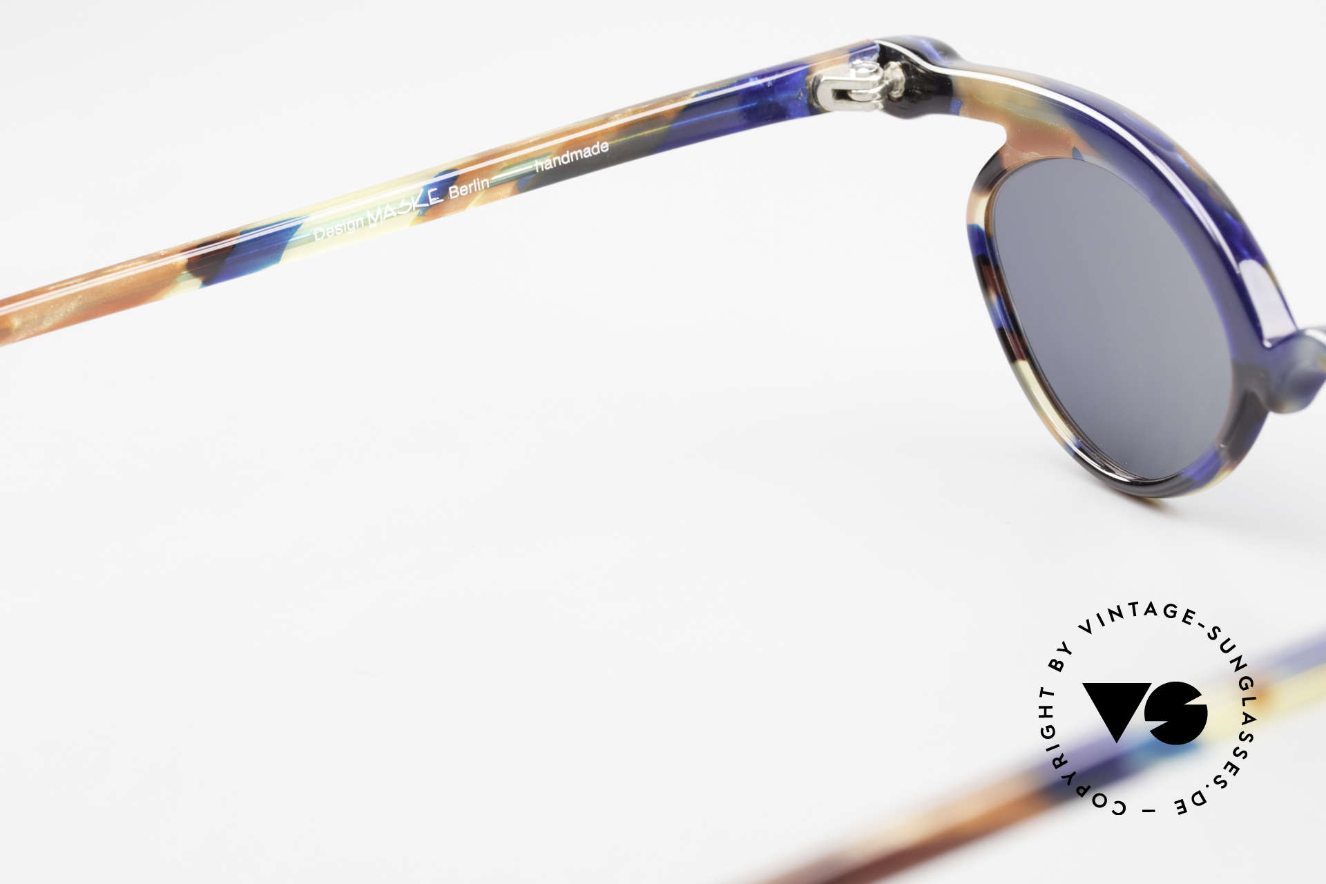 Design Maske Berlin Niobe Artful 90's Ladies Sunglasses, the sun lenses could be replaced with prescriptions, Made for Women