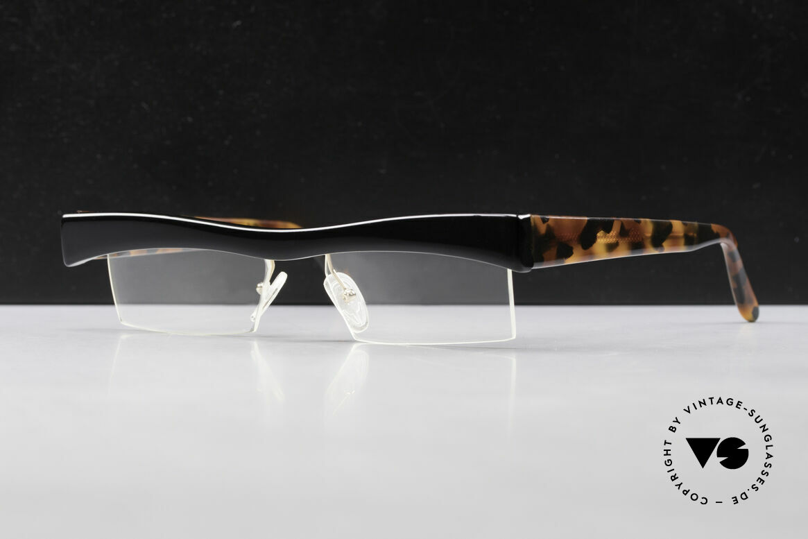 Design Maske Berlin Hamma Artful Vintage Eyeglasses 90s, art and functionality at close quarters; true rarity!, Made for Men