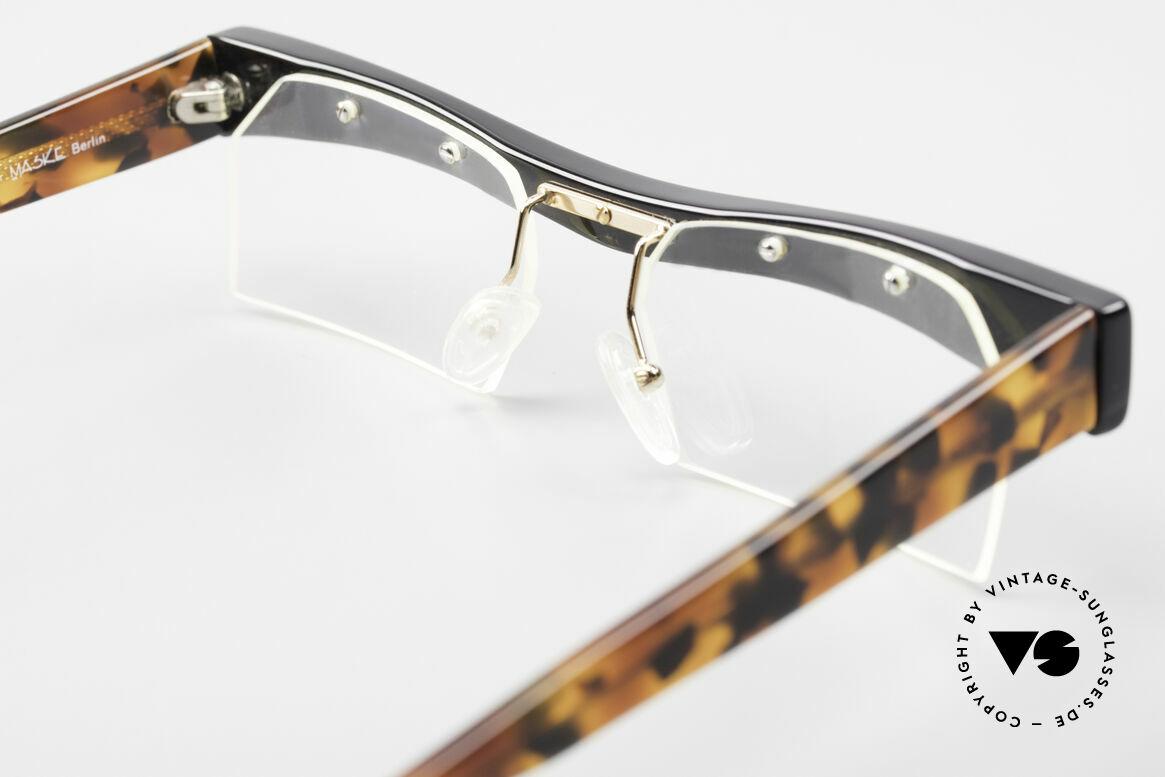 Design Maske Berlin Hamma Artful Vintage Eyeglasses 90s, Size: large, Made for Men