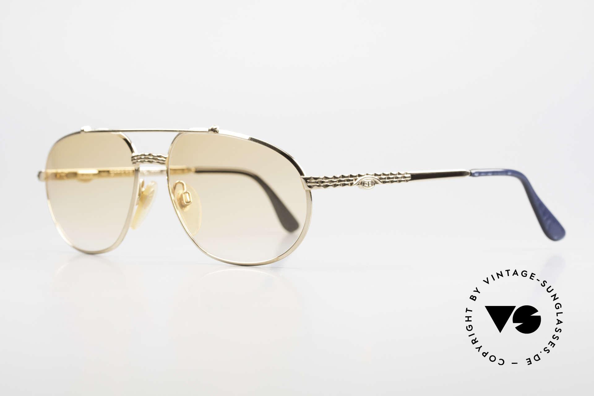 Bugatti EB503 Classic Luxury Sunglasses 90s, a costly original by Ettore Bugatti from the early 90s, Made for Men