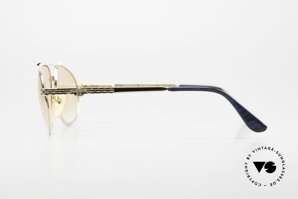 Bugatti EB503 Classic Luxury Sunglasses 90s, NO RETRO EYEWEAR, but an app. 25 years old rarity, Made for Men
