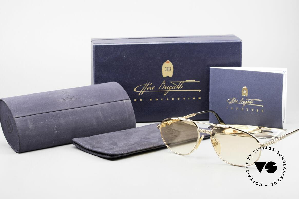 Bugatti EB503 Classic Luxury Sunglasses 90s, Size: extra large, Made for Men