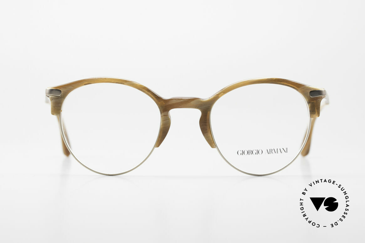 Giorgio Armani 7014 Panto Frame With Spring Hinges, more 'classic' isn't possible (famous 'panto'-design), Made for Men and Women