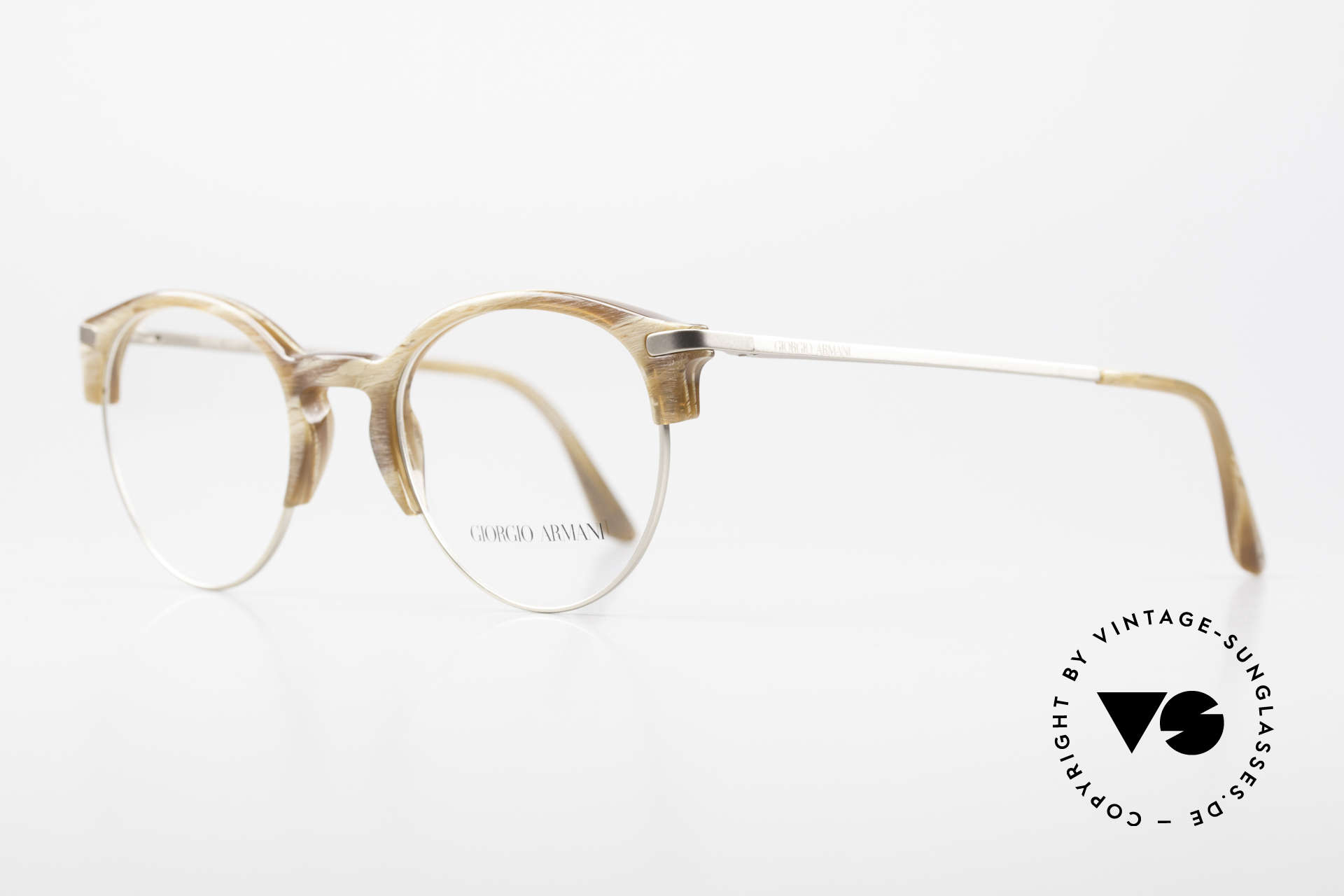 Giorgio Armani 7014 Panto Frame With Spring Hinges, tangible premium-quality with flexible spring hinges, Made for Men and Women