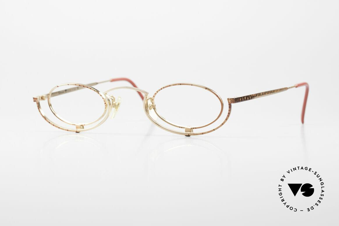 Casanova LC35 Crazy Designer Reading Glasses, crazy vintage reading eyeglasses for ladies from 1987, Made for Women