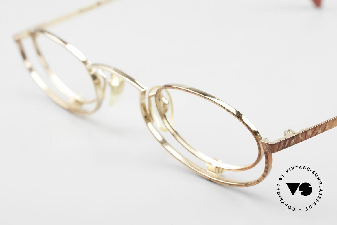 Casanova LC35 Crazy Designer Reading Glasses, CASANOVA model LC-35, in size 42-24, 140, color 01, Made for Women