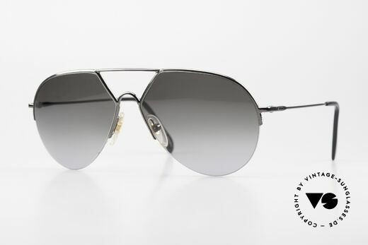 Alpina TR3 Style 80's Men's Sunglasses Aviator Details