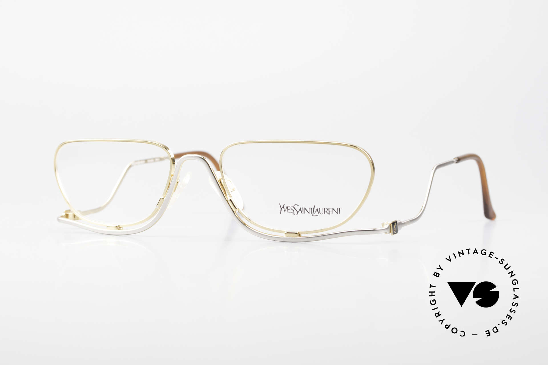 Yves Saint Laurent 4012 Y116 Extraordinary Eyeglasses, extravagant vintage reading glasses for ladies, Made for Women