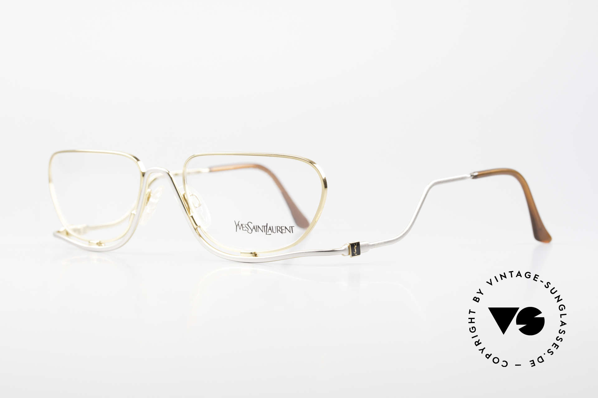 Yves Saint Laurent 4012 Y116 Extraordinary Eyeglasses, simply a glamorous designer frame; eye-catcher, Made for Women