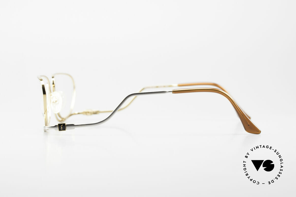 Yves Saint Laurent 4012 Y116 Extraordinary Eyeglasses, color code is Y116 = GOLD-PLATED / titanium, Made for Women