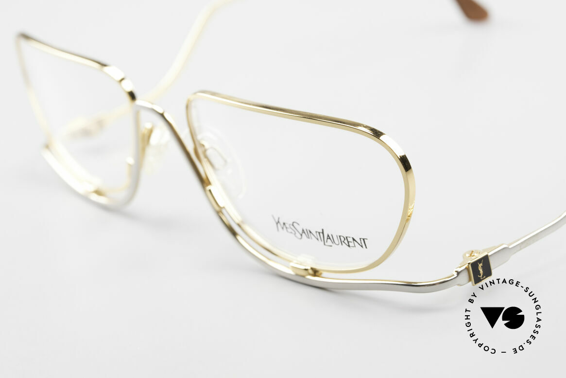 Yves Saint Laurent 4012 Y116 Extraordinary Eyeglasses, unworn (like all our YSL specs) + case by YSL, Made for Women