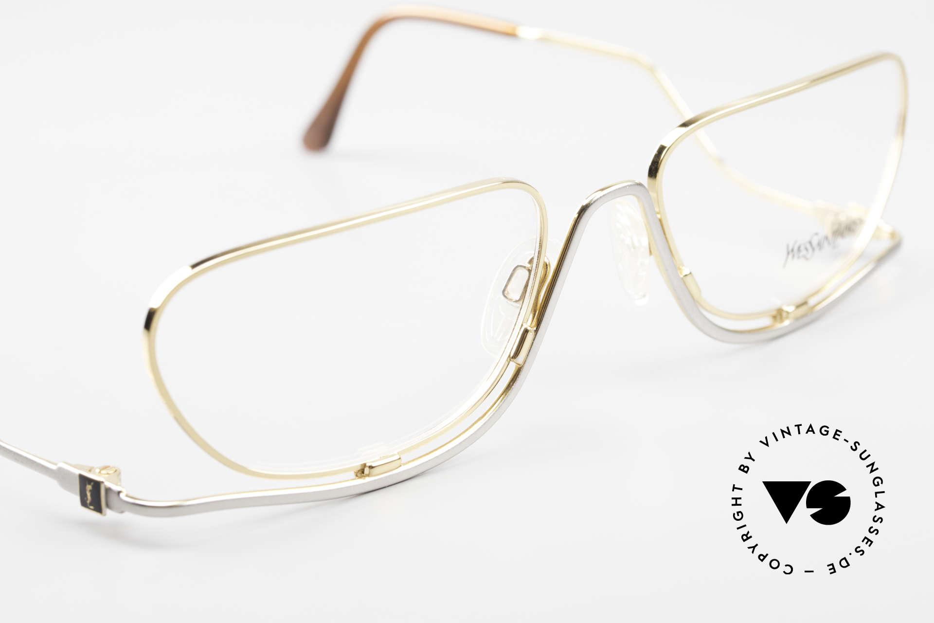 Yves Saint Laurent 4012 Y116 Extraordinary Eyeglasses, NO retro glasses, but an authentic 80's original, Made for Women