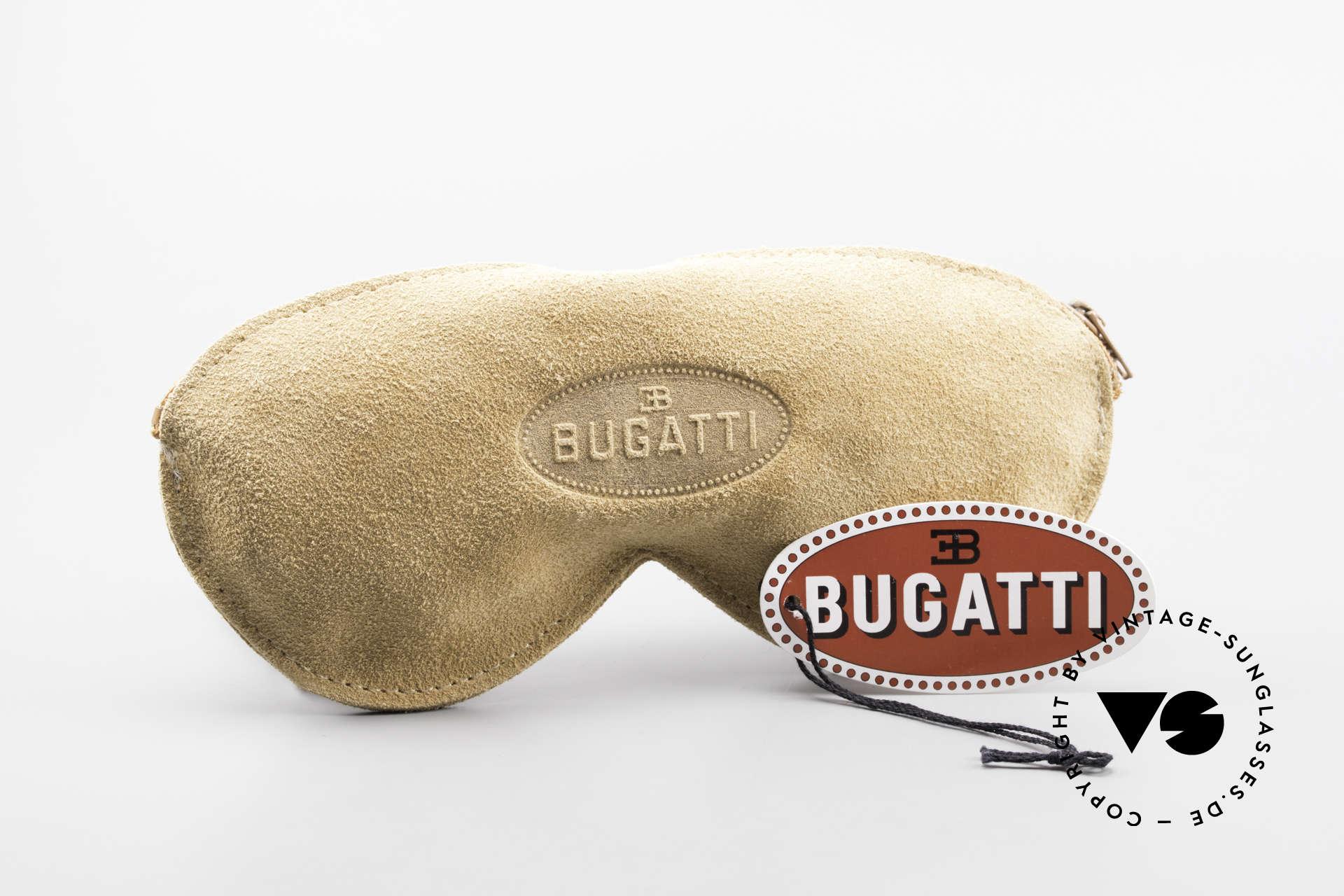 Bugatti 64319 80's Sunglasses With Clip On, Size: medium, Made for Men