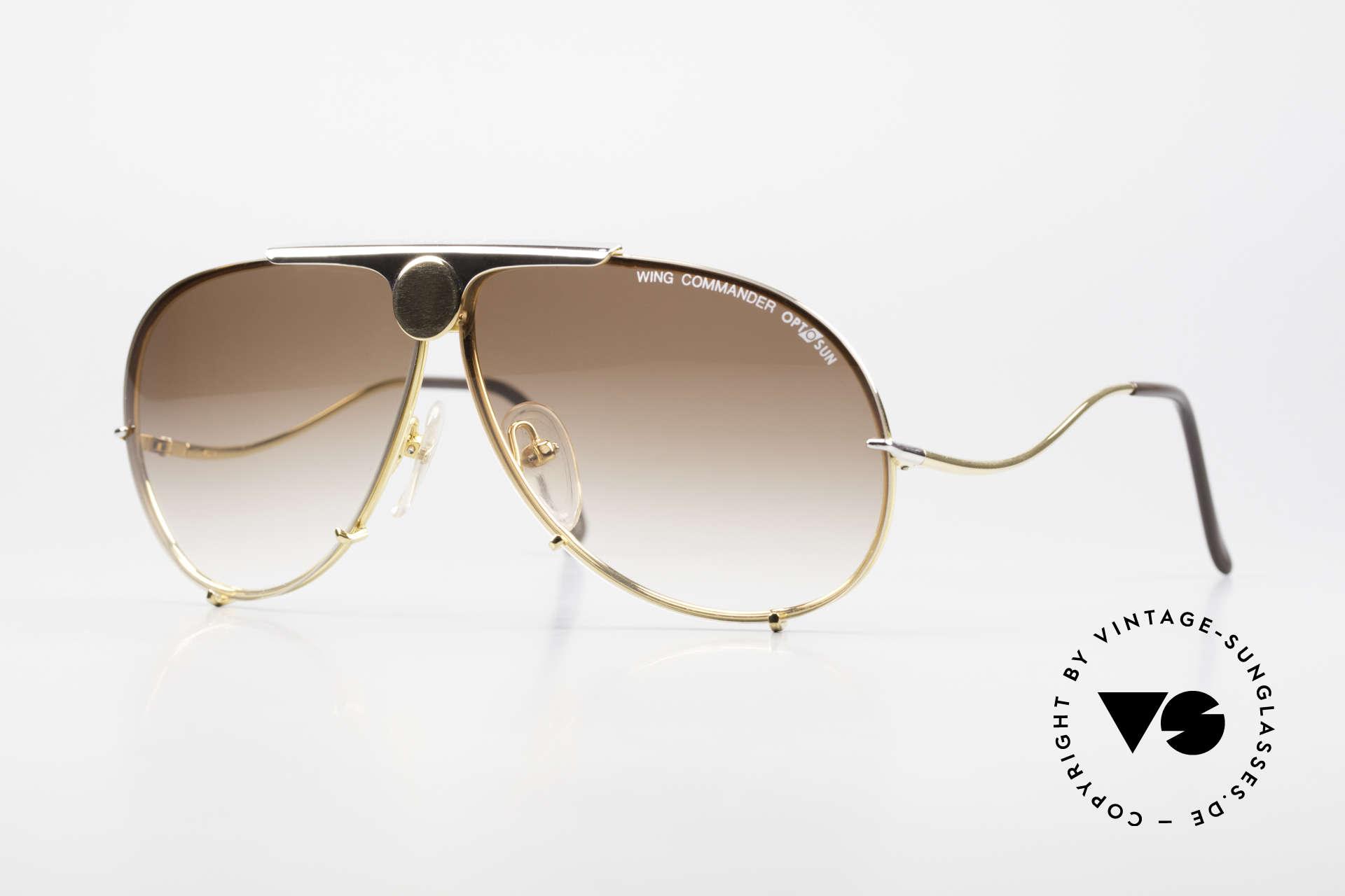 Colani 10-401 Optos Design Wing Commander, extravagant 80's designer shades by Luigi Colani, Made for Men