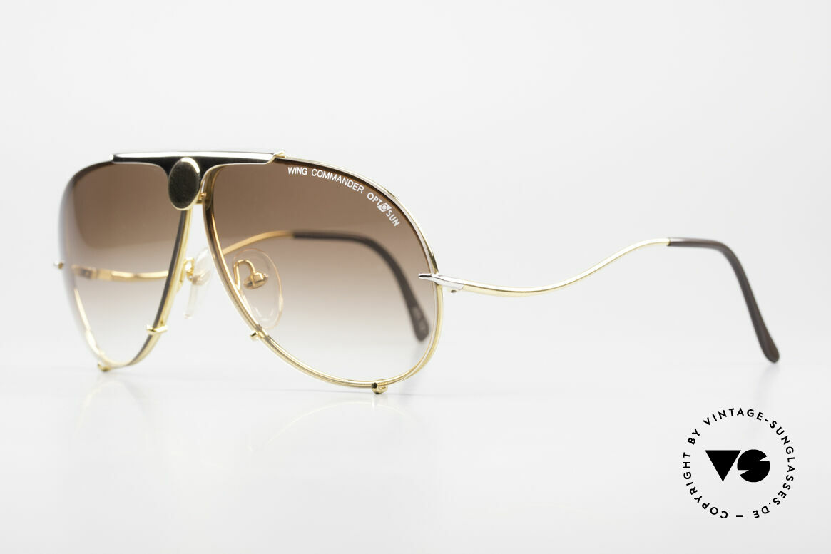 Colani 10-401 Optos Design Wing Commander, bicolor = 24ct gold-plated and platinum alloying, Made for Men