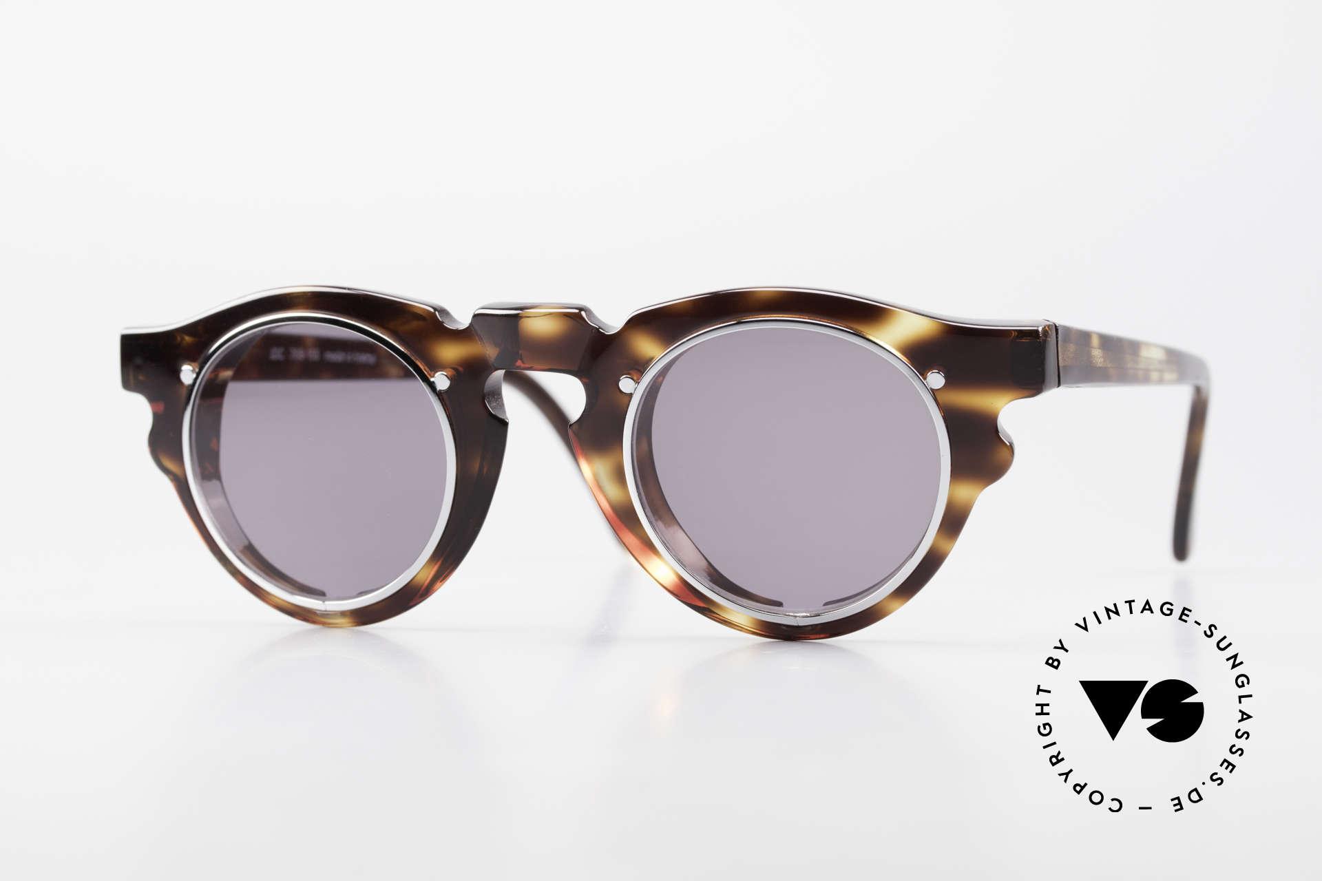 IDC 768 True Vintage Panto Sunglasses, distinctive 90's designer sunglasses by IDC, France, Made for Men and Women
