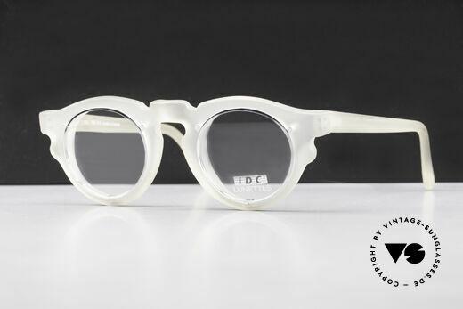 IDC 768 90's Vintage Panto Eyeglasses Details