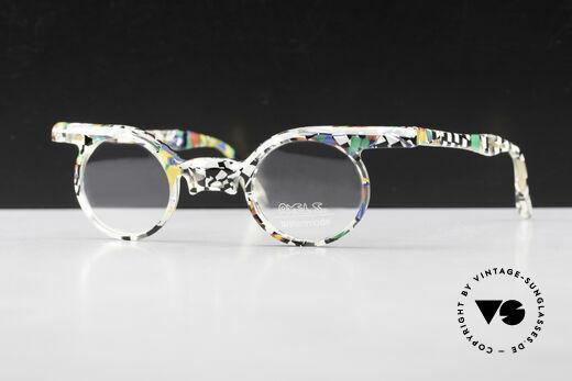 Axel S. Miracle Crazy 80's Eyeglasses Ladies Details