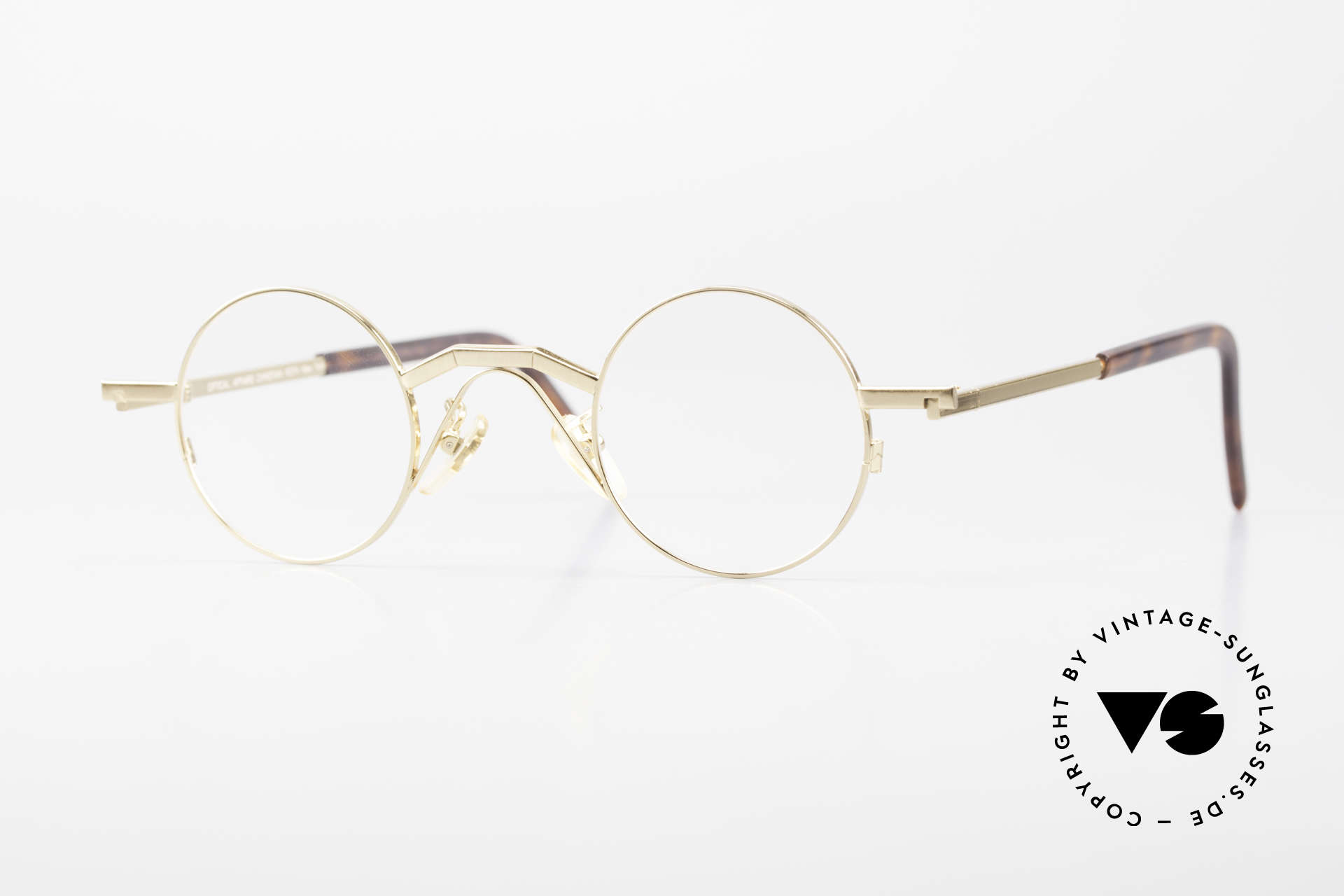 Christian Roth 2502 Round 90's Frame Bauhaus Style, Christian Roth Optical Affairs New York glasses, Made for Men and Women