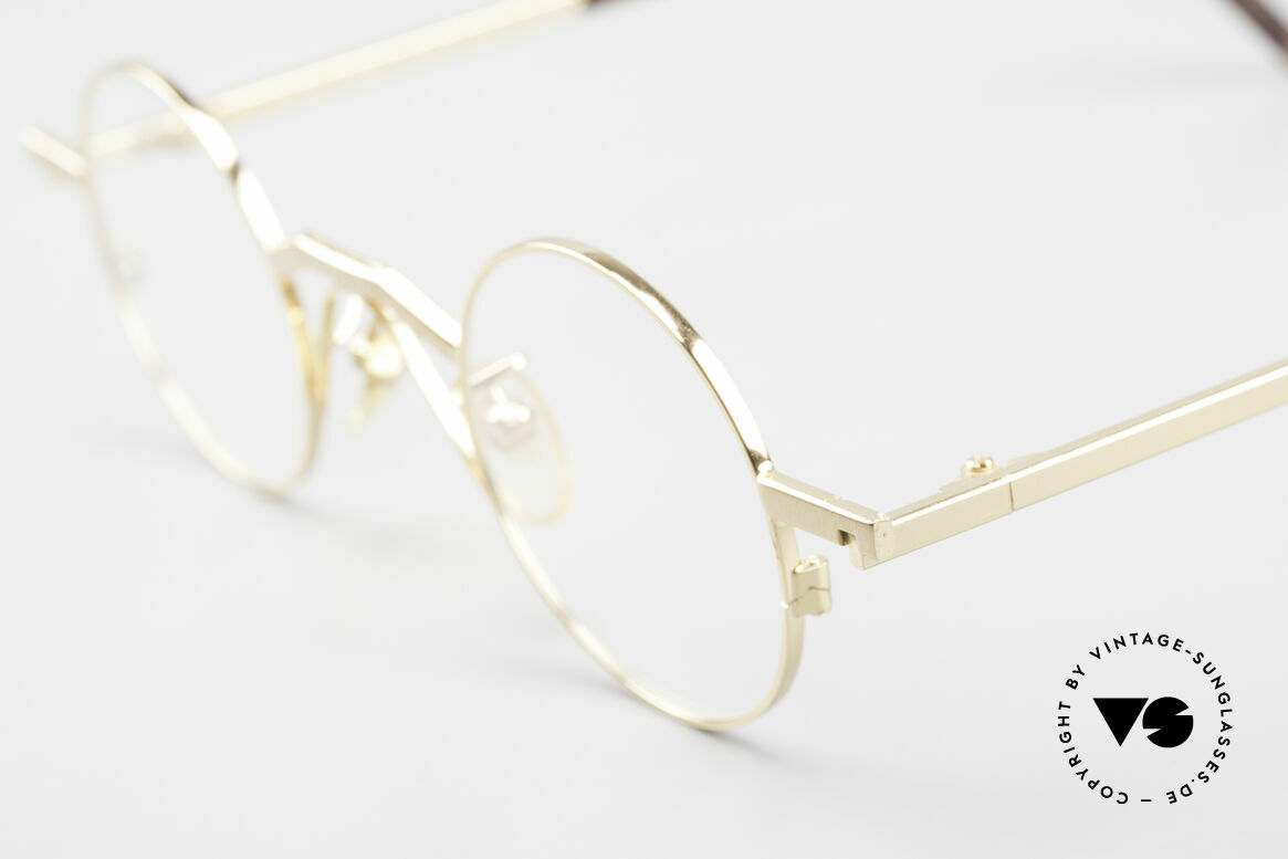 Christian Roth 2502 Round 90's Frame Bauhaus Style, exclusively top-notch frame components; high-end, Made for Men and Women