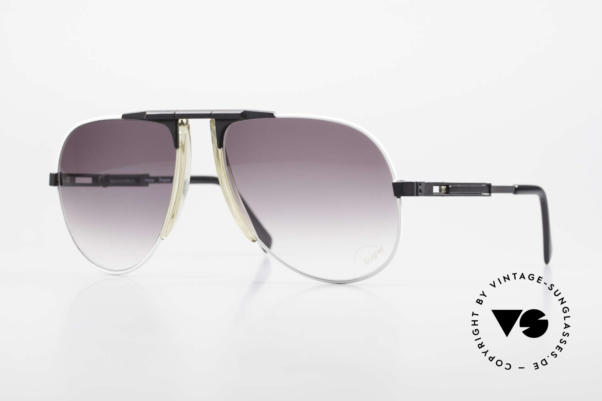 Willy Bogner 7011 Men 80's Sunglasses Adjustable, vintage sports sunglasses by skiing-ace Willy BOGNER, Made for Men