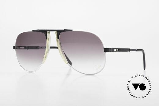 Willy Bogner 7011 Men 80's Sunglasses Adjustable Details