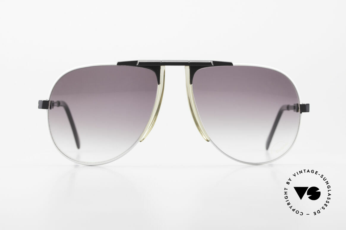 Willy Bogner 7011 Men 80's Sunglasses Adjustable, steplessely variable temples by Eschenbach; practical, Made for Men