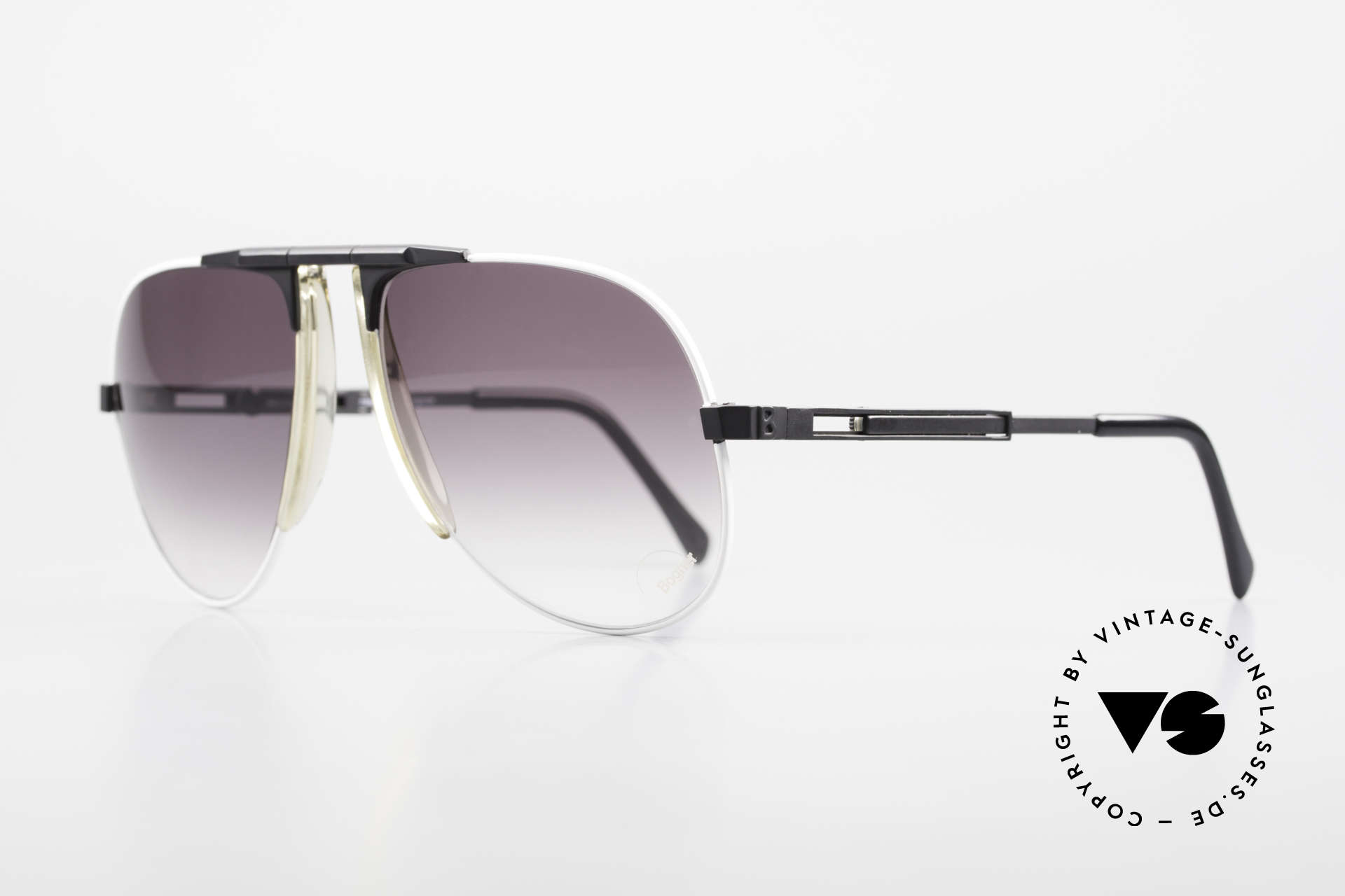 Willy Bogner 7011 Men 80's Sunglasses Adjustable, finest quality (100% UV) from Germany from app. 1982, Made for Men