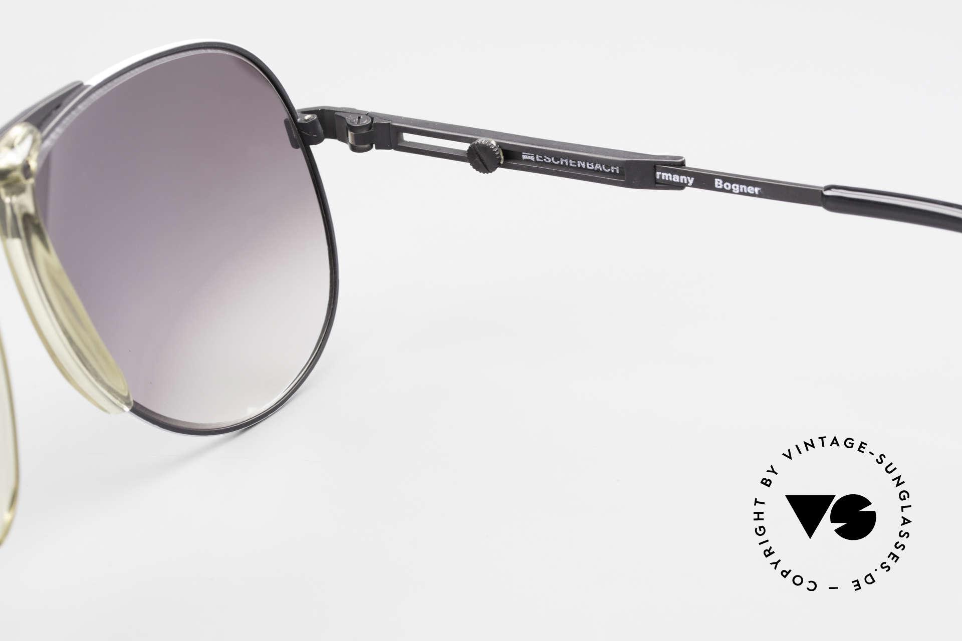 Willy Bogner 7011 Men 80's Sunglasses Adjustable, Size: large, Made for Men