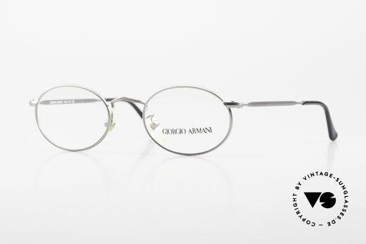 Giorgio Armani 131 Vintage Specs Oval 80's Unisex Details