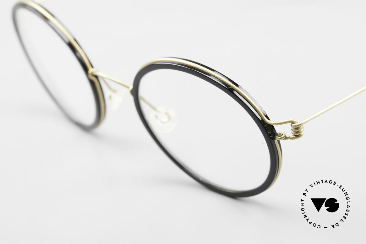 Lindberg Cameron Air Titan Rim Round Titan Glasses Acetate, simply timeless, stylish and innovative: grade 'vintage', Made for Men and Women