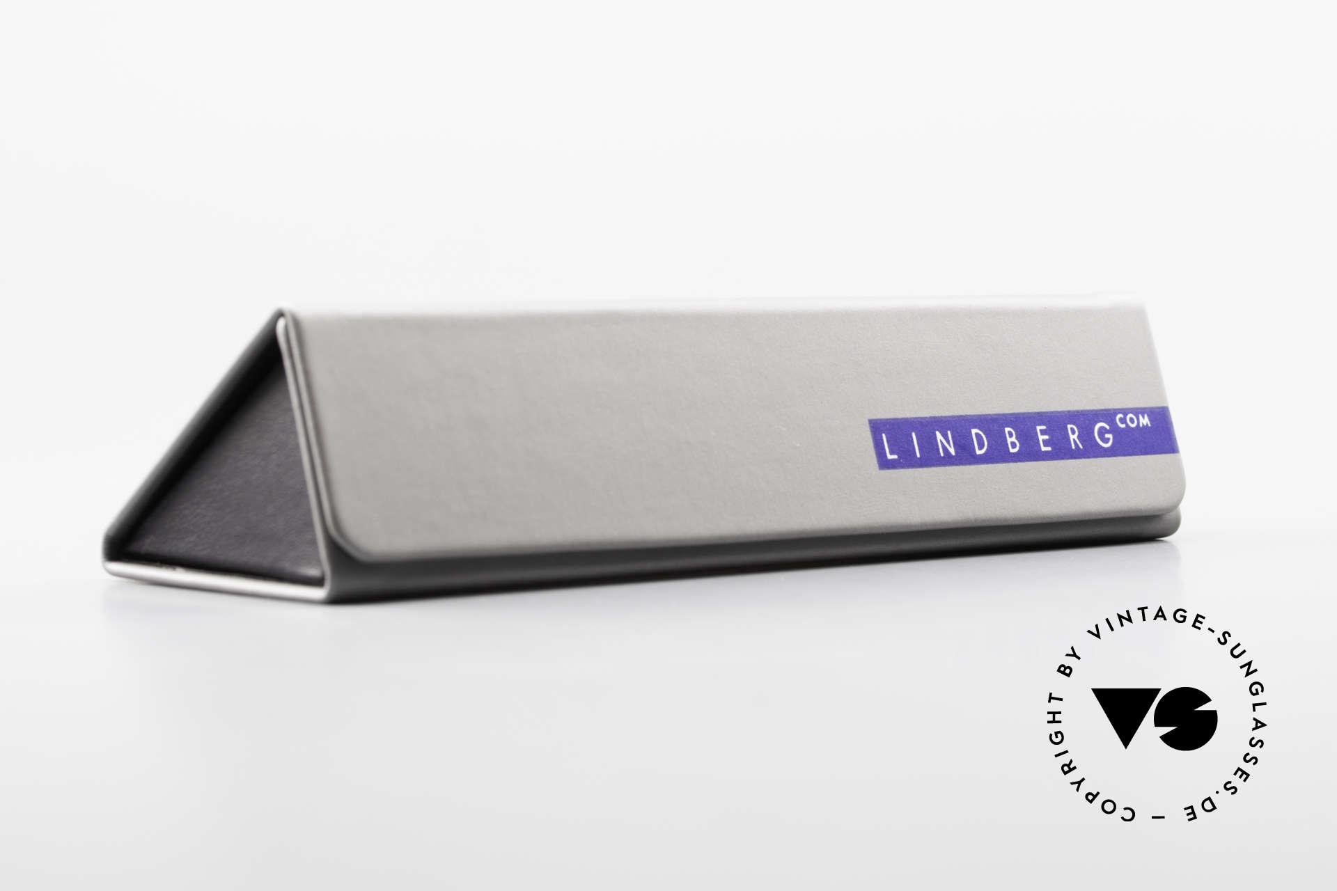 Lindberg Cameron Air Titan Rim Round Titan Glasses Acetate, Size: medium, Made for Men and Women