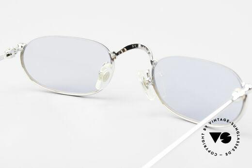 Cartier Demi Lune 2000 Oval Reading Frame Platinum, NO retro eyeglasses; an old original from app. 2000, Made for Men and Women
