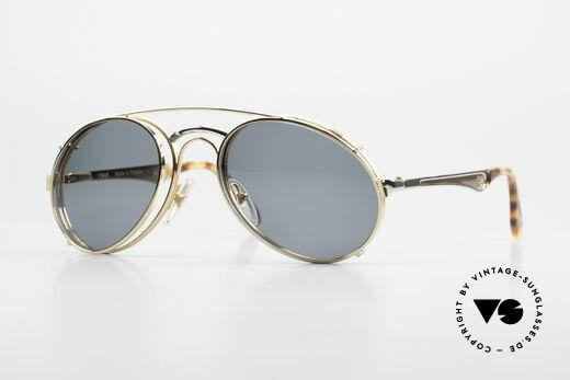 Bugatti 11948 Luxury Men's Glasses Clip On Details