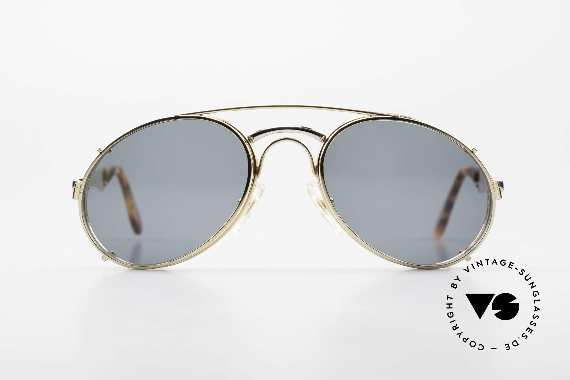 Bugatti 11948 Luxury Men's Glasses Clip On, the Bugatti CLASSIC par excellence, a legend!, Made for Men
