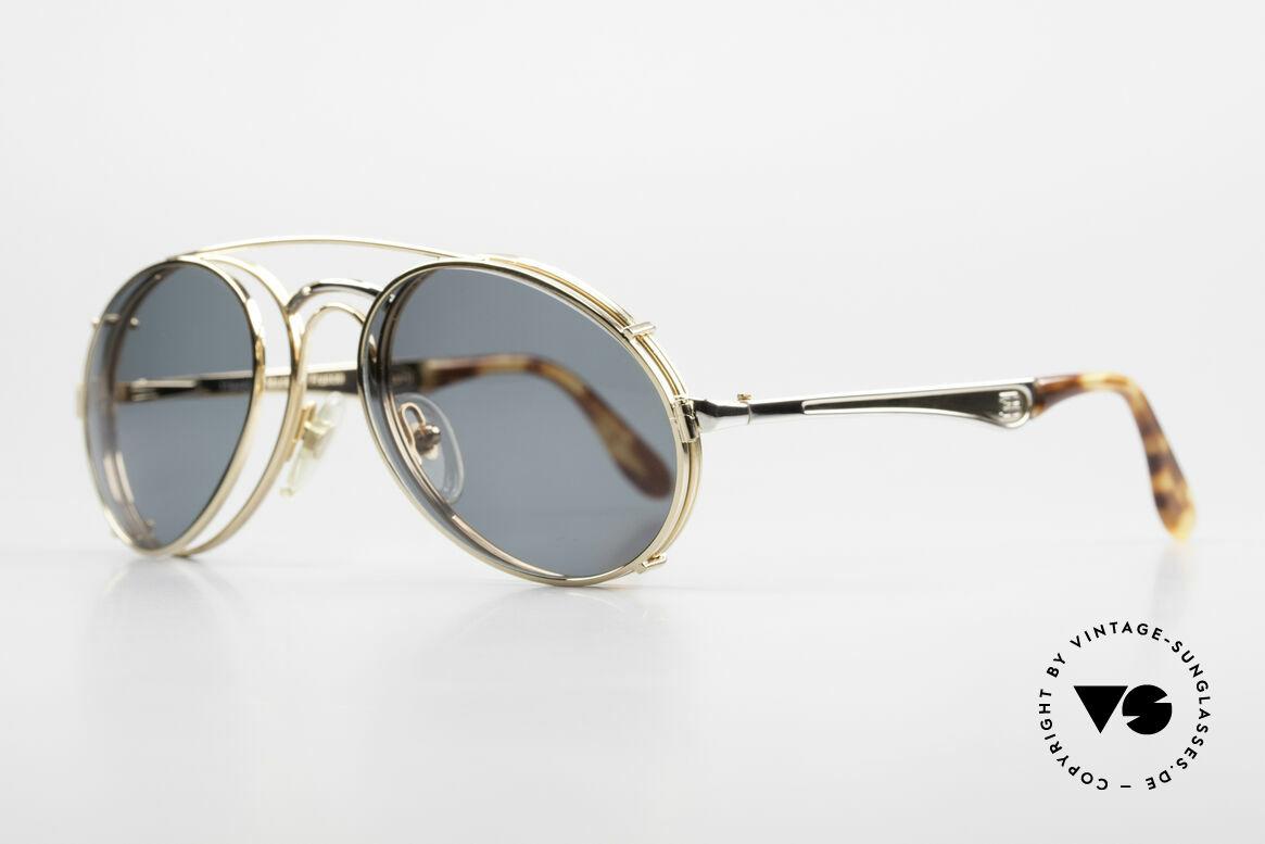 Bugatti 11948 Luxury Men's Glasses Clip On, no tear drop, no aviator, but just Bugatti shape, Made for Men