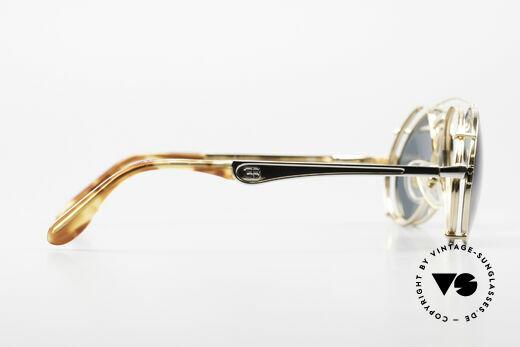 Bugatti 11948 Luxury Men's Glasses Clip On, NO RETRO sunglasses; but a costly 80's Original!, Made for Men
