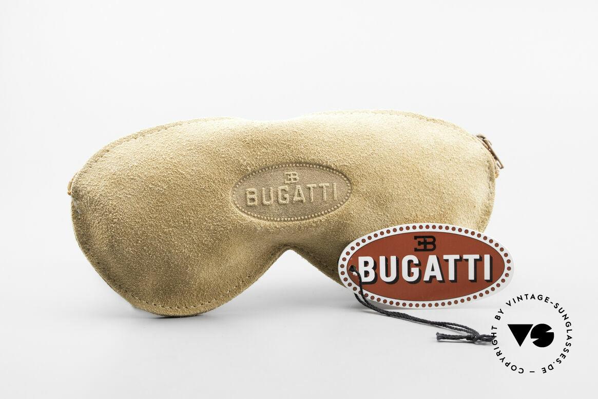 Bugatti 11948 Luxury Men's Glasses Clip On, Size: medium, Made for Men