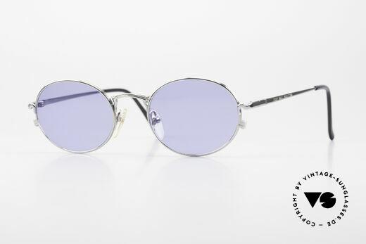 Jean Paul Gaultier 55-3181 Oval 90's Frame Pure Titanium Details