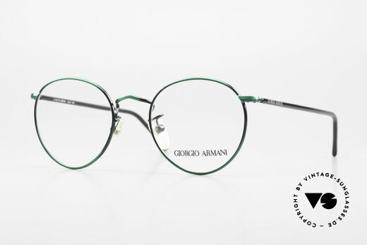 Giorgio Armani 138 Panto Frame Ladies And Gents Details