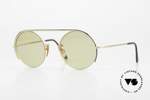 Giorgio Armani 602 Round Vintage Shades Nylor Details