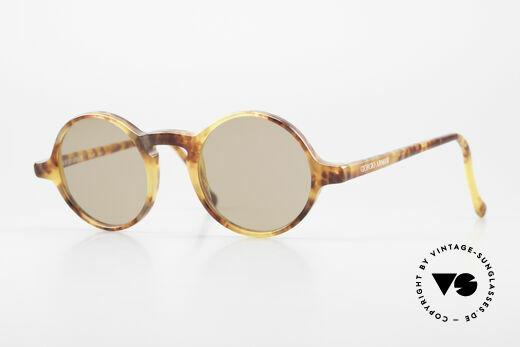 Giorgio Armani 324 Round 90's Designer Sunglasses Details