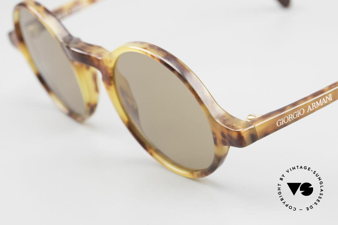 Giorgio Armani 324 Round 90's Designer Sunglasses, never worn (like all our classic Giorgio Armani shades), Made for Men