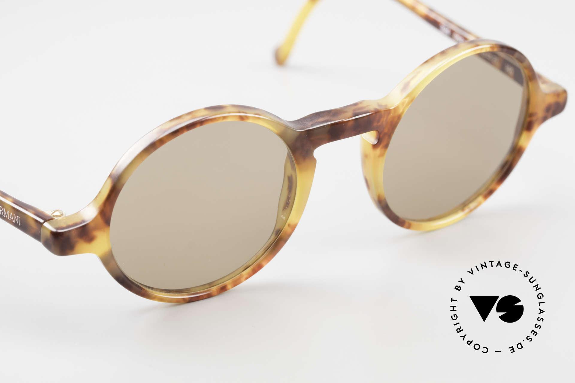 Giorgio Armani 324 Round 90's Designer Sunglasses, NO RETRO specs, but a unique 25 years old ORIGINAL, Made for Men