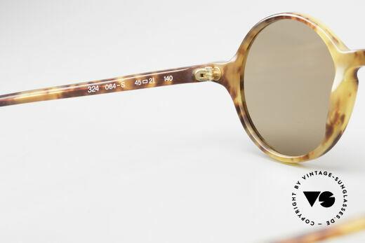Giorgio Armani 324 Round 90's Designer Sunglasses, mineral sun lenses could be replaced with prescriptions, Made for Men